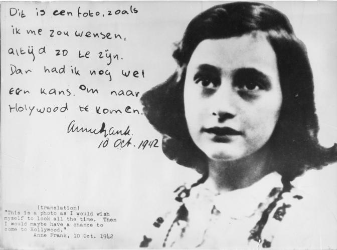 Anne Frank'ın Hatıra Defteri…